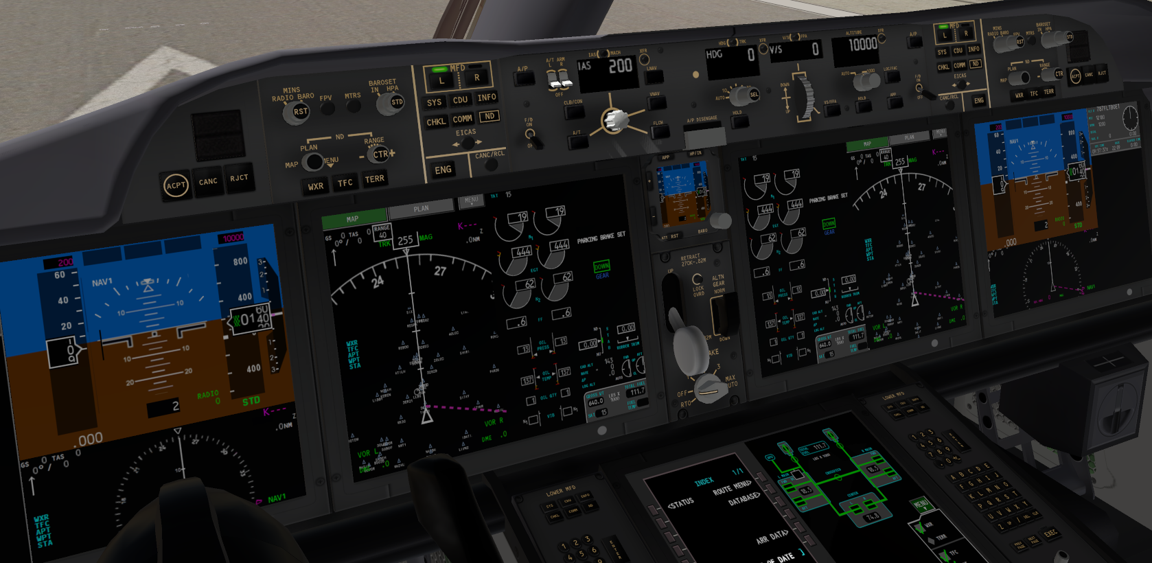 Magknight Boeing 787-9 X-PLANE 10