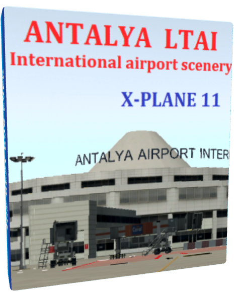 Antalya Int  LTAI scenery XP11
