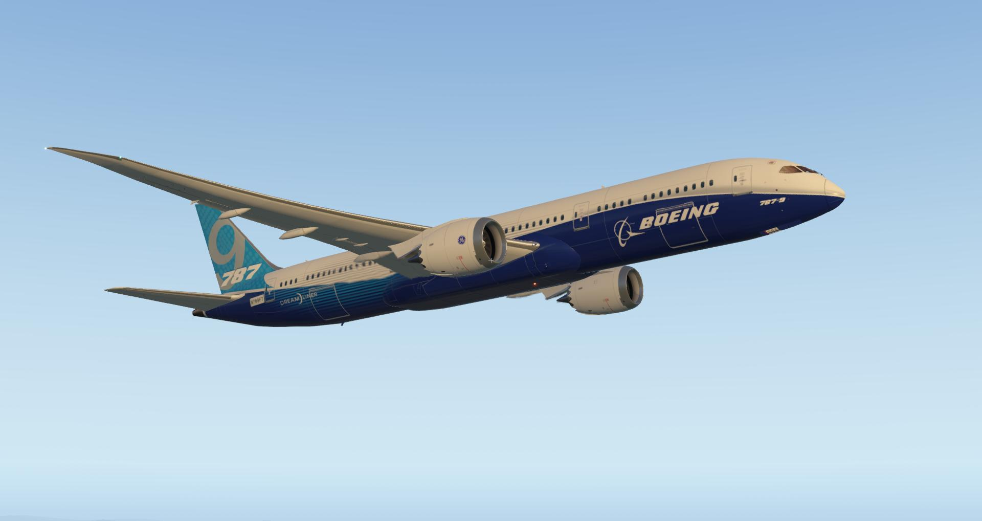 Magknight Boeing 787-9 X-PLANE 11